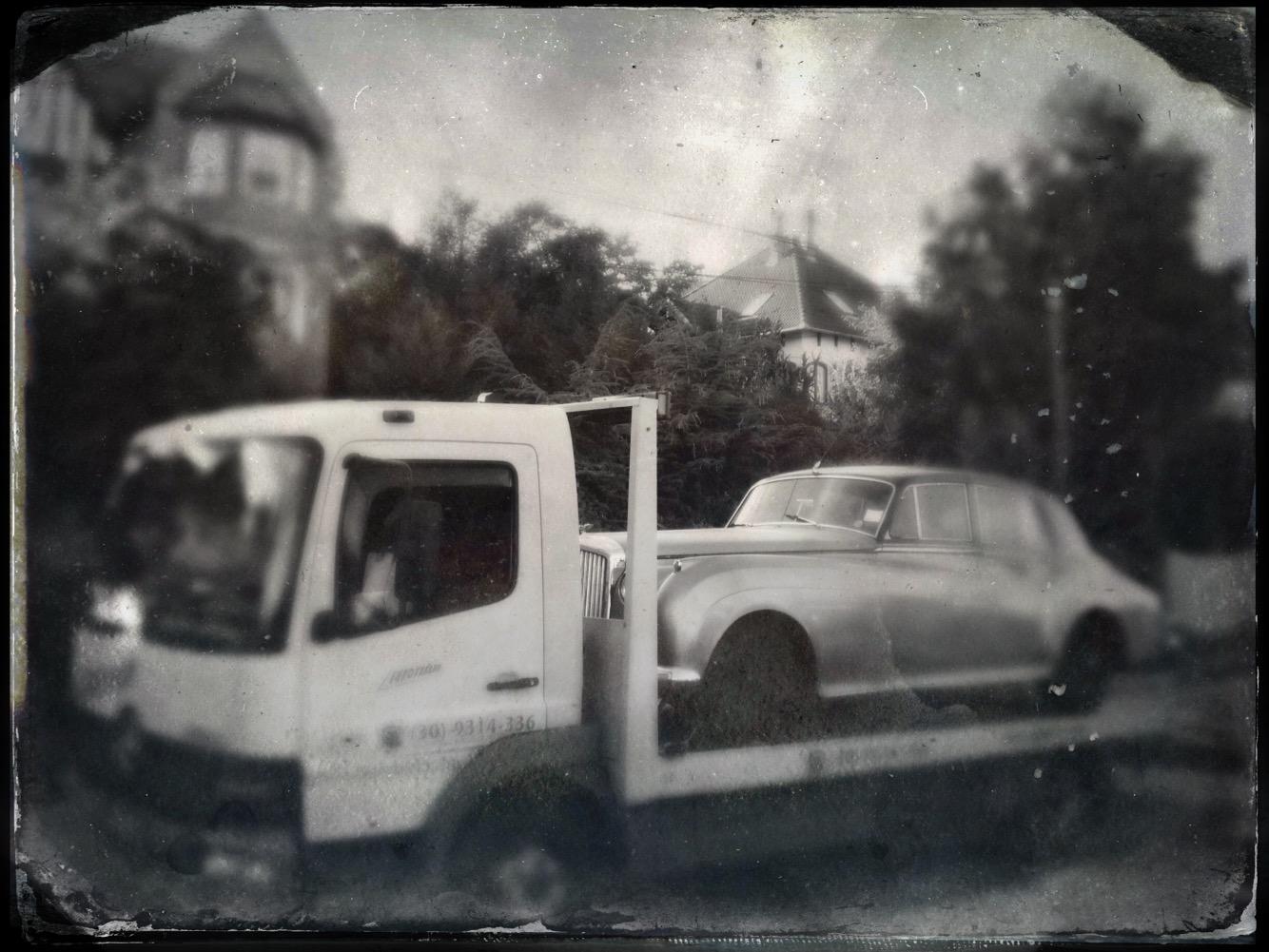 veterán kocsi mentése